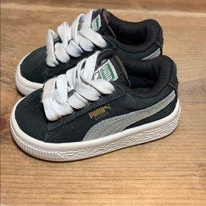 Puma Boys Suede Sneaker